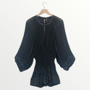 Free People Butterfly Kisses Romper Size Medium